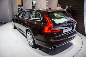 volvo station wagon 2017 volvo v90 brings luxury and style to the station wagon segment