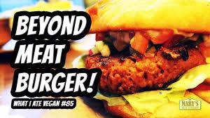 kitchen in a day beyond meat burger taste test what i ate vegan in a day 85