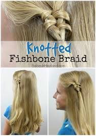 knotted fishbone braid in hairland