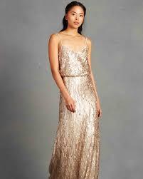 gold bridesmaid dresses gold bridesmaid dresses martha stewart weddings