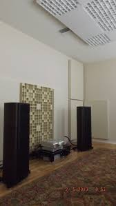 room acoustic analysis and acoustic treatment for an audiophile
