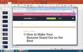 How To Attach Photo To Resume How To Insert Links In Powerpoint Slides In 60 Seconds