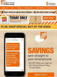 home depot shop va black friday 39 best emails mobile app promotion images on pinterest mobile