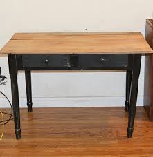 country sheraton style two drawer work table ebth