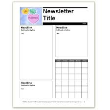 where to find free church newsletters templates for microsoft word