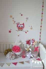 theme chambre bebe fille décoration chambre enfant bébé fille liberty éloise fuchsia