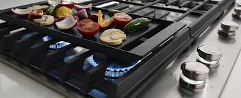 Cooktop Range With Downdraft Kitchen Amazing Kitchenaid Gas Cooktop With Downdraft Stainless
