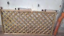 4 Ft Fence Panels With Trellis Lattice Garden Trellises Ebay