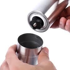 Portable Coffee Grinder Portable Coffee Grinder Stainless Steel Ceramic Burr Hand Crank