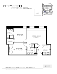 two bedroom apartments perry street lofts