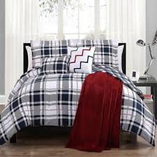 Twin Plaid Comforter Buy Twin Red Plaid Bedding Sets From Bed Bath U0026 Beyond