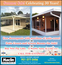 maclin security doors inc summer sale shopping ads from