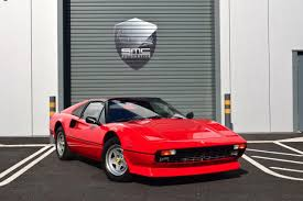used 1983 ferrari 308 gts quattrovalvole 7500 miles from new for