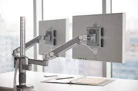m flex humanscale u0027s multi monitor arm support system