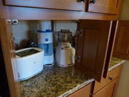 Kitchen Appliance Storage Ideas Garage Cabinet Ideas Kitchen Traditional With Appliance Garage