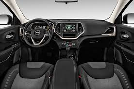 cherokee jeep 2016 white 2016 jeep cherokee cockpit interior photo automotive com