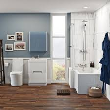 mode tate bathroom suite with left handed shower bath and white free delivery mode ellis left hand shower bath 1700 x 850 suite with ellis white floor drawer unit