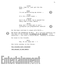 things season 2 duffer brothers script pages ew
