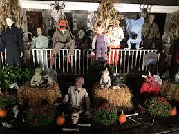 Decorating The House For Halloween New Jersey Town Helps Man Decorate House After Wife U0027s Breast