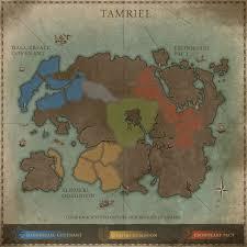 Oblivion Map Tes Online Interactive Map Of Tamriel