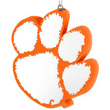 clemson ornaments clemson tigers ornaments