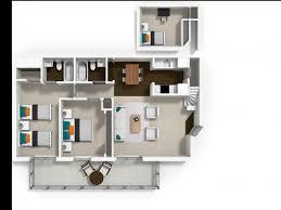 Loft Apartment Floor Plan 3 Bed 2 Bath Apartment In Davis Ca La Salle Apartments