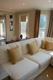 Pottery Barn Seagrass Sectional Grant Beige Contemporary Living Room Benjamin Moore Grant Beige