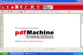 Word To Pdf Pdfmachine Word To Pdf