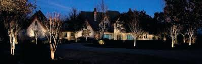 Moonlighting Landscape Lighting Landscape Lighting The Woodlands Tx Back Yard Of Residence