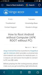 kingo root android root android via kingoroot apk without pc step by step steemit