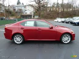 2012 lexus is 250 custom car picker red lexus is