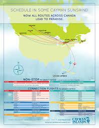 Grand Cayman Islands Map English Canada U003e Plan A Trip U003e Getting Here By Air