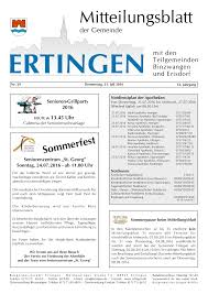 Lipke Bad Buchau Ausgabe 29 Vom 21 07 2016