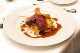 haute cuisine haute cuisine venison thyme plaice