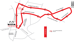 Sun Country Route Map by Kl Carfree Morning
