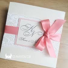 How To Make Wedding Invitations Wedding Invitations With Ribbon Plumegiant Com