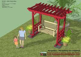 arbor swing plans arbor swing plans woodworking outdoor furniture tierra este 69655
