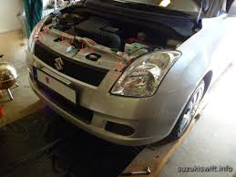 living with a suzuki swift removing the front bumper