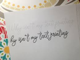 writing printing paper why isn t text printing from silhouette studio troubleshooting silhouette studio silhouette tutorial line thickness