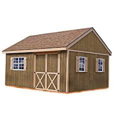 Decorative Gable Vents Home Depot by Best Barns New Castle 16 Ft X 12 Ft Wood Storage Shed Kit Wood