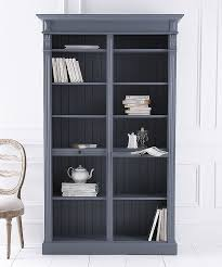 White Open Bookcase French Open Bookcase Painted To Order Angel And Boho
