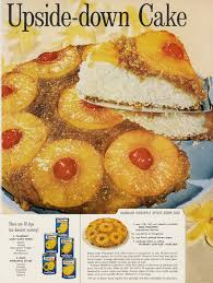 1961 dole u0026 pillsbury hawaiian pineapple upside down cake recipe
