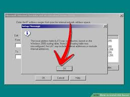 Windows Routing Table How To Install Isa Server With Pictures Wikihow