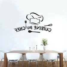 sticker cuisine sticker mural cuisine cuisine du chef vinyl wall stickers