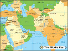middle east map india visa information for middle east projectvisa