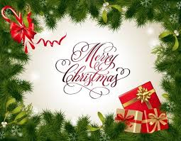 free christmas card template illustrator vector art free vector