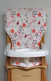 Forest High Chair Wooden High Chair Cover With Straps Best Home Chair Decoration