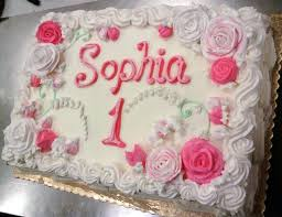 image result for 1st birthday sheet cake birthday party