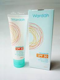 Wardah Gel wardah sunscreen gel spf 30 silver treasure on a budget