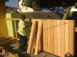how to build a cedar fence how tos diy